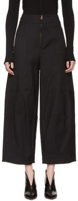 Chloé Black Cargo Trousers