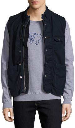 Save Khaki Fleece Lined Vest