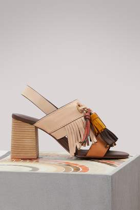 See by Chloe Tania heeled sandals