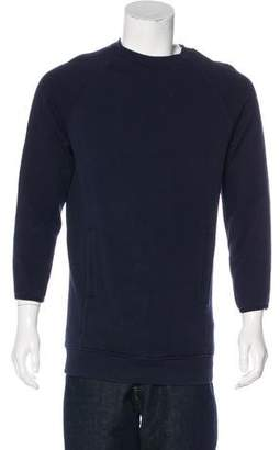 Acne Studios Long Sleeve Crew Neck Sweatshirt