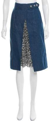 Creatures of the Wind Stamit Denim Skirt w/ Tags