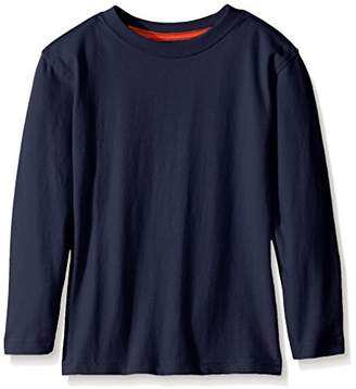 Scout + Ro Little Boys' Long-Sleeve Solid Crew-Neck T-Shirt