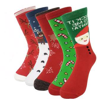 18bd98e80b at Amazon Canada · Women Girls Novelty Crew Socks