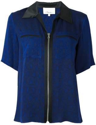 3.1 Phillip Lim zipped short sleeve shirt