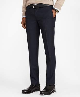 Brooks Brothers Soho Fit Check Washable Wool Pants