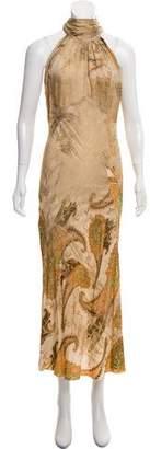 Just Cavalli Silk Maxi Dress w/ Tags