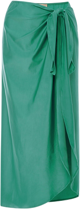 Adriana Degreas Pareo Side Tie Skirt