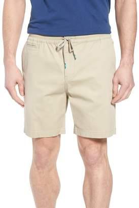 TORI RICHARD Drawstring Bedford Corduroy Shorts