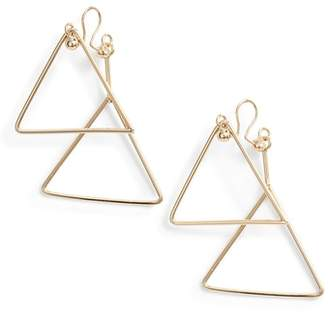 Vince Camuto Triangle Clip Earrings