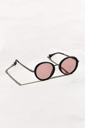Urban Outfitters Opaque Round Metal Bridge Sunglasses