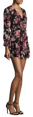 Joie Joada Silk Mini Dress