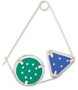 Loewe Meccano Metal Pin - Womens - Green Multi