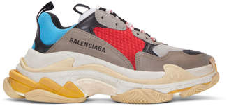Balenciaga Multicolor Triple S Sneakers