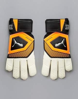 Puma Soccer Goal Keeping Gloves In Orange 041475-01