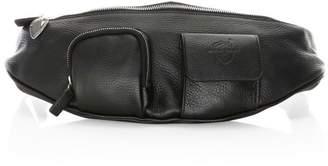 Avec La Troupe Major Leather Belt Bag