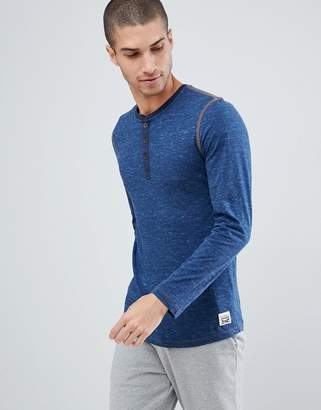 1d3f6ae8666eb at ASOS · Levi s Levis Henley Long Sleeve T-Shirt in Blue