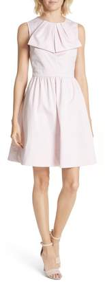Ted Baker BOW FRONT FULL COTTON DRESS