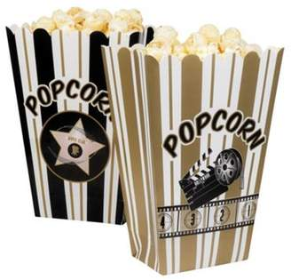 Bottega Veneta Boland Hollywood Popcorn Black & Gold Bag/ Box 4 Pack