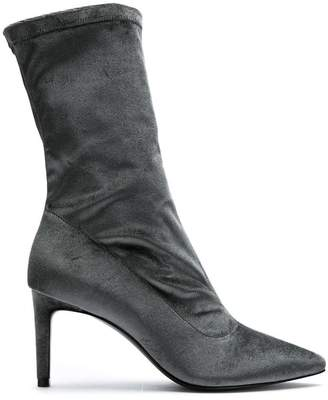 6b3ea2dfed2a Womens Mid Calf Suede Boots - ShopStyle UK
