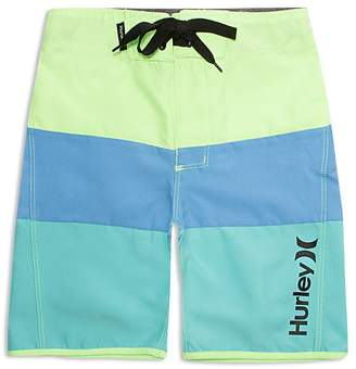 Hurley Boys' Triple Threat Color Block Board Shorts - Big Kid