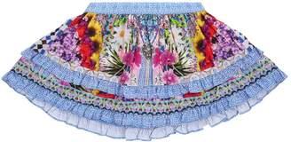 Camilla Sweet Thing Ruffled Mini Skirt Skirt