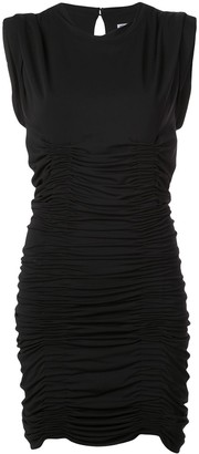 Alexander Wang ruched formal dress