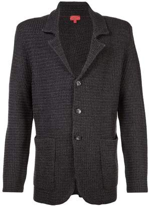 Isaia knitted blazer jacket