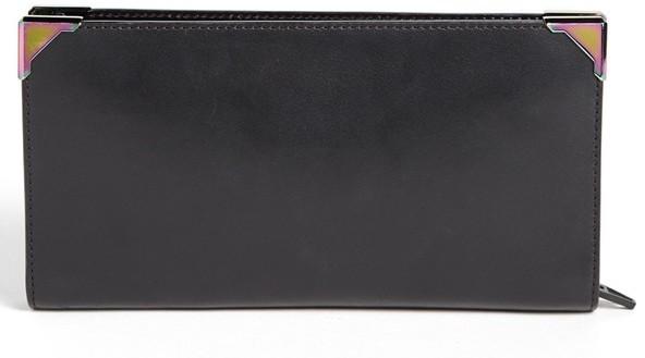 Alexander Wang 'Prisma - Iridescent' Zip Leather Wallet