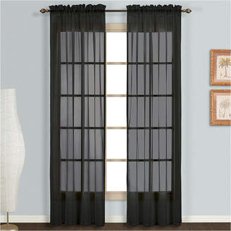 Co UNITED CURTAIN United Curtain Monte Carlo Rod-Pocket 2-Pack Curtain Panels