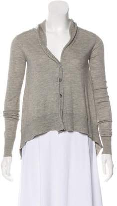 Inhabit Cashmere Asymmetrical Cardigan