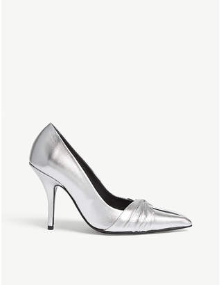 Maje Pointed stiletto heel court shoes