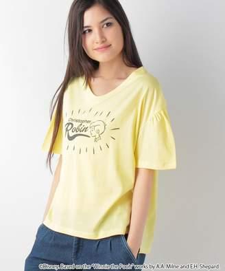 Melrose (メルローズ) - 【50%OFF】メルローズ クレールくまのプーさん CollectionTシャツレディースイエローF【MELROSE Claire】【セール開催中】