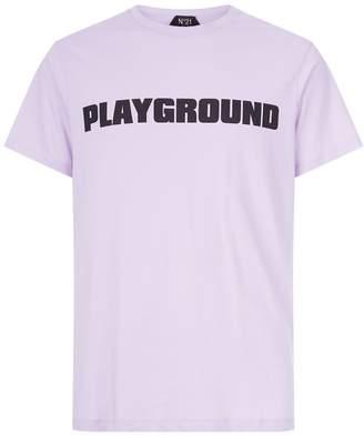 N°21 Playground Logo Print T-Shirt