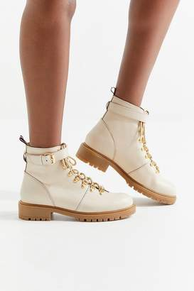 Urban Outfitters Jessa Leather Hiker Boot