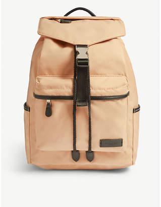 CHARLIE FEIST Kai nylon and vegan leather backpack