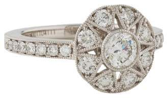 Marchesa Diamond Engagement Ring