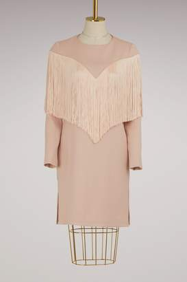 Carven Straight Fringed Dress