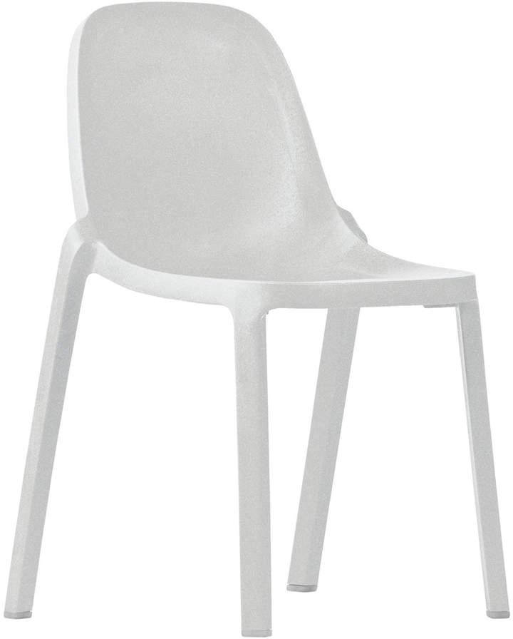 Broom Stuhl, Weiß