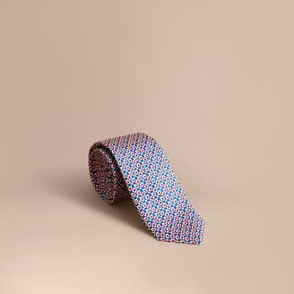 Burberry Slim Cut Abstract Floral Silk Tie $195 thestylecure.com