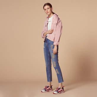 Sandro Cuba high-waisted jeans