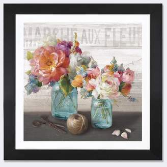 Lark Manor 'French Cottage Bouquet III' Painting Print on Canvas Format: Canvas,