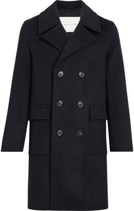 MACKINTOSH Navy Wool & Cashmere Long Pea Coat GM-051F