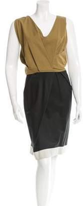Dries Van Noten Colorblock Sleeveless Dress w/ Tags