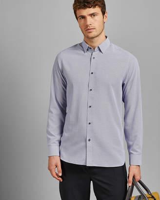 Ted Baker HIENA Long sleeved geo print shirt