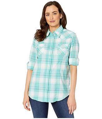 2830220f4e3ce2 Free Shipping & Free Returns at Zappos · Wrangler Long Sleeve Snap Plaid  Shirt