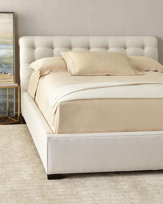 Gloria Tufted Queen Bed