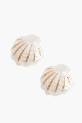 Tuckernuck Summer Gold Mermaid Earrings