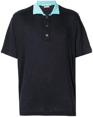 Common Wild knitted polo shirt