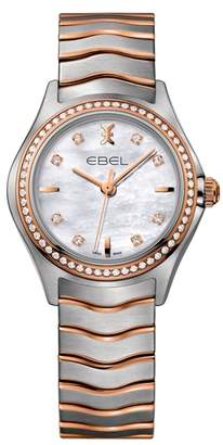 Ebel Wave Bracelet Watch, 30mm