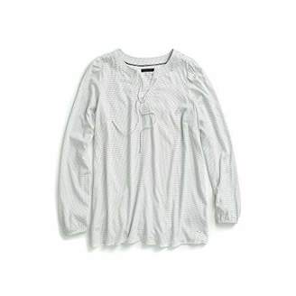 Tommy Hilfiger Women's Tunic Shirt with Elastic Cuffs